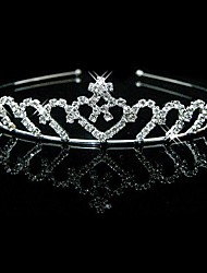 cheap -Rhinestone Headbands / Headwear with Floral 1pc Wedding / Special Occasion Headpiece