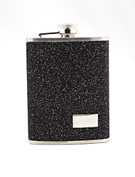 cheap -Stainless Steel / Leatherette Hip Flasks Groom / Groomsman Wedding / Anniversary / Birthday