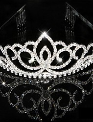 cheap -Crystal Rhinestone Tiaras Headpiece
