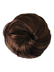 cheap -Short High Quality Bun Synthetic Hairpiece 3 Colors Available