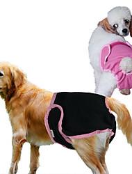 cheap -Dog Pants Dog Clothes Black Purple Blue Costume Cotton XS S M L XL