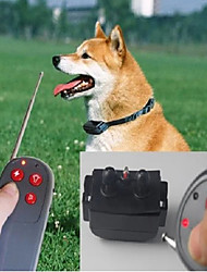 cheap -Dog Training Bark Collar Dog Training Collars Training Dog Anti Bark Remote Control Electronic / Electric Nylon For Pets / Safety