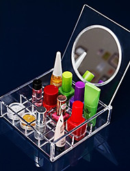 cheap -Makeup Storage Cosmetic Box / Makeup Storage Acrylic Solid 14.8 x 15.0 x 4.6