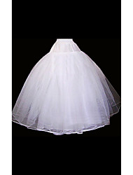 cheap -Wedding / Special Occasion Slips Organza Floor-length Ball Gown Slip with