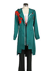 cheap -Inspired by Dangan Ronpa Cosplay Video Game Cosplay Costumes Cosplay Suits Color Block Coat Vest Pants Costumes