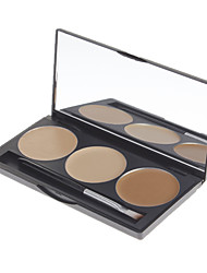 cheap -3 Colors Powders Concealer / Contour Face Concealer Cosmetic Gift