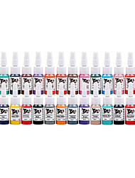 cheap -Tattoo Supplies Tattoo Inks 28 Color Kit Pigment 0.16 Oz Common Ink-S28Set