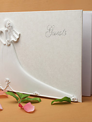 cheap -Guest Book Resin / Polyester Garden Theme With Guest Book