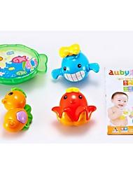Недорогие -3 шт Мини Фантастическая Морские животные игрушки ванны Набор для малышей