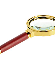 cheap -Amplification 8X 60mm Optical Magnifying Glass Handheld Reading Magnifier