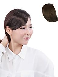 Недорогие -Высококачественных синтетических волокна японского Kanekalon Браун Клип В челкой