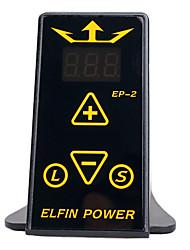 cheap -DragonHawk mini elfin digital tattoo machine power supply kit top quality