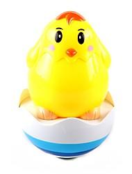 Недорогие -Музыкальный желтый узор Куриный неваляшка для младенца