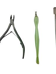 cheap -3pcs Metal Scissors Callus & Corn Removers For Finger Nail Toe Nail Matte nail art Manicure Pedicure Unique Design / Classic Daily