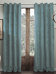 cheap -Custom Made Energy Saving Curtains Drapes Two Panels  / Living Room