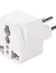 cheap -Universal UK/US/EU/AU to Europe Travel AC Power Adapter Plug Converter