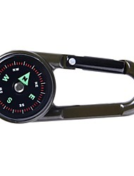 cheap -Keychain Favors Compasses Thermometer Survival Navigation Thermometer Plastic Camping / Hiking