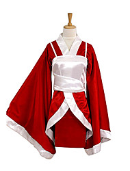 cheap -Inspired by LOL Akari Video Game Cosplay Costumes Cosplay Suits / Kimono Patchwork Long Sleeve Vest Kimono Coat Costumes