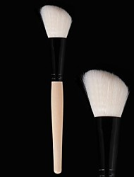 cheap -Professional Makeup Brushes Blush Brush 1 Travel Blending Premium flawless Buffing Stippling Concealer Synthetic Hair for Cream Liquid Powders