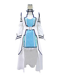 cheap -Inspired by SAO Alicization Asuna Yuuki Anime Cosplay Costumes Japanese Cosplay Suits Patchwork Vest Dress Sleeves For Women's / Waist Accessory / Waist Accessory