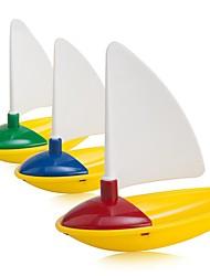 Недорогие -3 шт Мини Разноцветные Ванна Парусники игрушка набор