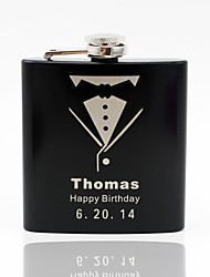 cheap -Stainless Steel Hip Flasks Groom / Groomsman / Couple Wedding / Anniversary / Birthday