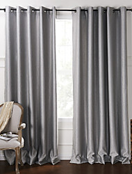 "cheap -Custom Made Blackout Blackout Curtains Drapes Two Panels 2*(42W×96""L) / Embossed / Living Room"