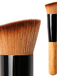 cheap -Professional Makeup Brushes Foundation Brush 1 Travel Left Angled Multi-functional Blending Premium flawless Buffing Stippling Synthetic Hair / Artificial Fibre Brush for Cream Liquid Powders