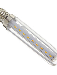 cheap -1pc 4 W LED Corn Lights 100-150 lm E14 T 37 LED Beads SMD 3014 Decorative Warm White 220-240 V / # / RoHS