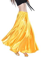 cheap -Belly Dance Skirt Women's Training Satin / Performance / Ballroom