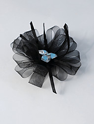 cheap -Women's / Flower Girl's Rhinestone / Tulle Headpiece-Wedding / Special Occasion Flowers