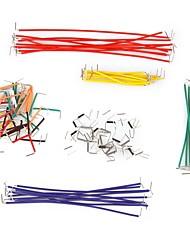 Недорогие -140 шт перемычек с различными цветами