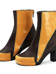 cheap -Cosplay Boots Cosplay Cosplay Anime Cosplay Shoes PU Leather Women's Halloween Costumes