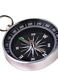 cheap -Compasses Portable With Keychain Glass Silver