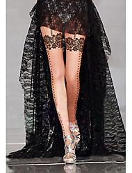 cheap -Women's Thin Pantyhose Beige