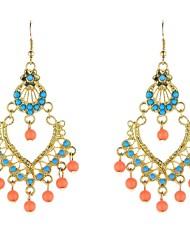 cheap -Women's Drop Earrings Dangle Earrings Bohemian Boho Resin Earrings Jewelry Blue For Party Daily Casual