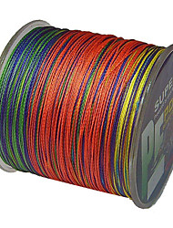 cheap -PE Braided Line / Dyneema / Superline Fishing Line 500M / 550 Yards PE 40LB 35LB 30LB 0.2;0.23;0.26;0.28 mm Sea Fishing Freshwater Fishing / 22LB