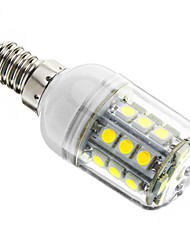 cheap -1pc 3 W LED Corn Lights 350-400 lm E14 T 27 LED Beads SMD 5050 Dimmable Cold White 220-240 V