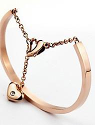 cheap -Women's Fahion Forever Love Heart Bracelet
