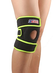 cheap -Knee Brace / Reinforced Knee Support for Camping / Hiking / Baseball / Running Unisex Adjustable / Eases pain / Thermal / Warm Sports / Outdoor Polyester / Nylon / Rubber 1pc Black