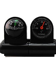 cheap -Car-used Thermometer and Compass 2 in One