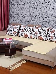 abordables -Elaine pur coton sofa jaune coussin 333915