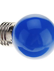 cheap -0.5 W LED Globe Bulbs 30 lm E26 / E27 G45 7 LED Beads Dip LED Decorative Blue 220-240 V / RoHS