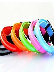 cheap -Cute Colorful  Screen LED  Lights Collars  for Pets(Assorted Colors)