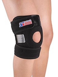 cheap -Knee Brace for Camping / Hiking / Climbing / Running Unisex Adjustable / Easy dressing Sports / Outdoor Nylon / Rubber 1pc Black