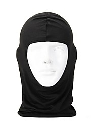 cheap -Balaclava Pollution Protection Mask Windproof Protective Bike / Cycling Yellow Red Orange Lycra for Men's Women's Adults' Skiing Camping / Hiking Hunting Cycling / Bike Solid Color / Winter