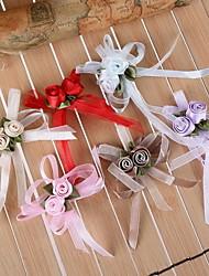 Недорогие -Искусственные цветы органза / Satin Свадебные украшения Свадьба / Для вечеринок Цветы / Классика Весна / Все сезоны