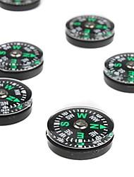 cheap -Compasses Mini Portable High Quality Acrylic Camping / Hiking Hunting Climbing Outdoor 10 pcs 1.5 cm