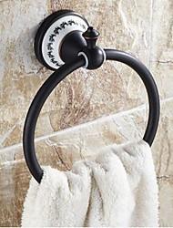 Недорогие -Кольцо для полотенец Традиционный Латунь / Керамика полотенце