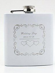 cheap -Personalized Stainless Steel Barware & Flasks / Hip Flasks Couple Wedding